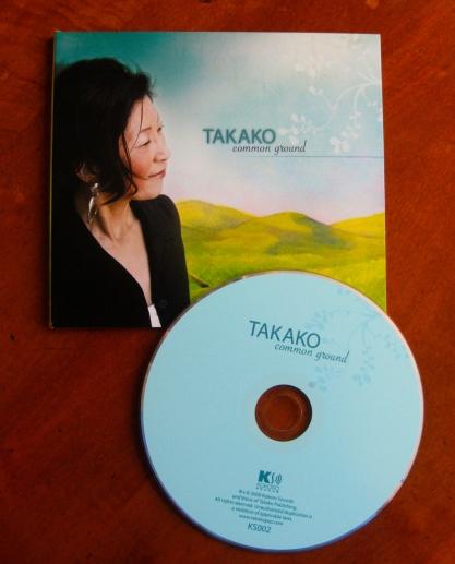 For Takako using her own illustration.