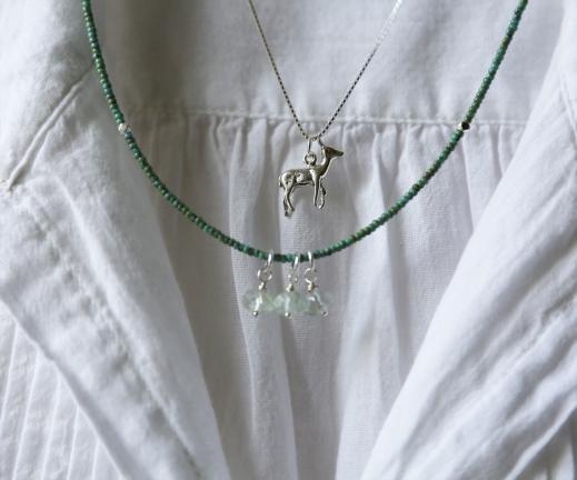 Deer necklace 3