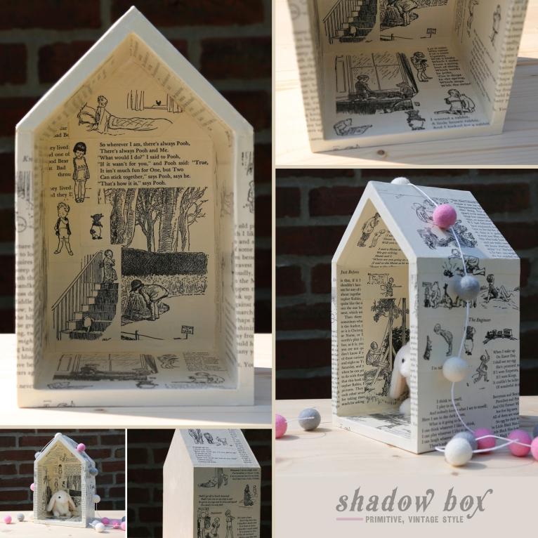 Vintage Shadow Box Post