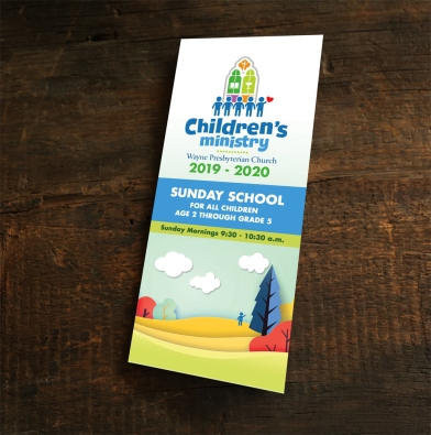 Logo and Brochure Design for Church