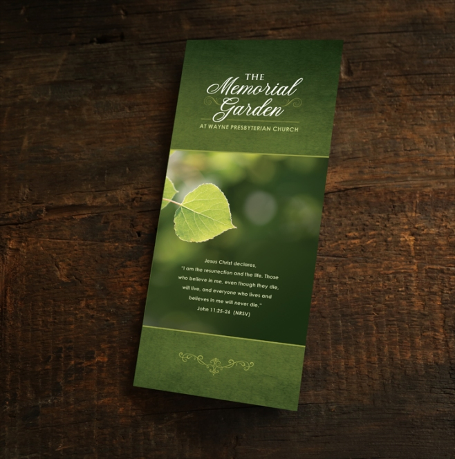 Brochure Design for Church